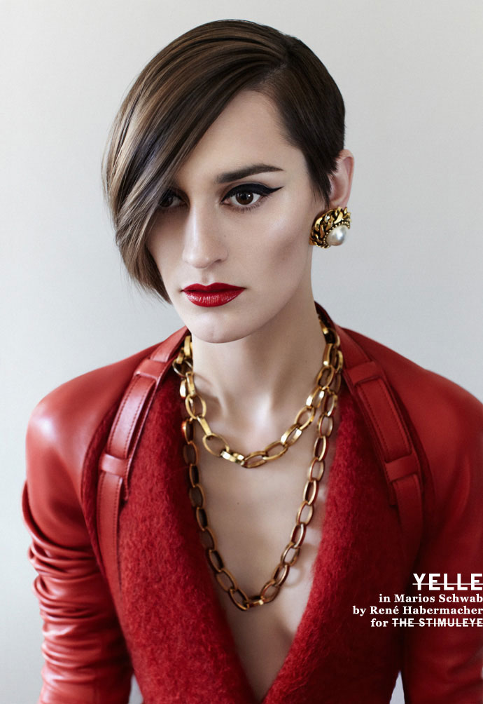 Yelle by René Habermacher, in Marios Schwab for The Stimuleye