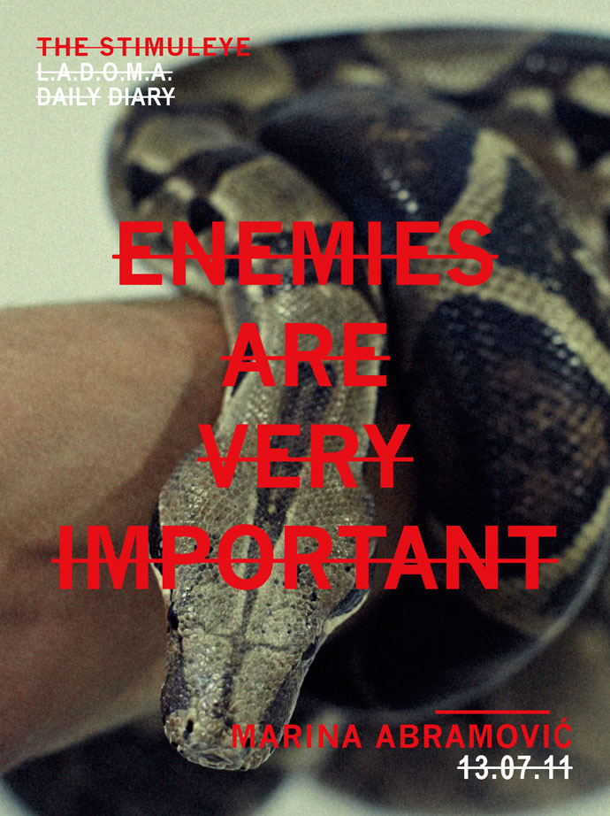 enemies are very important
