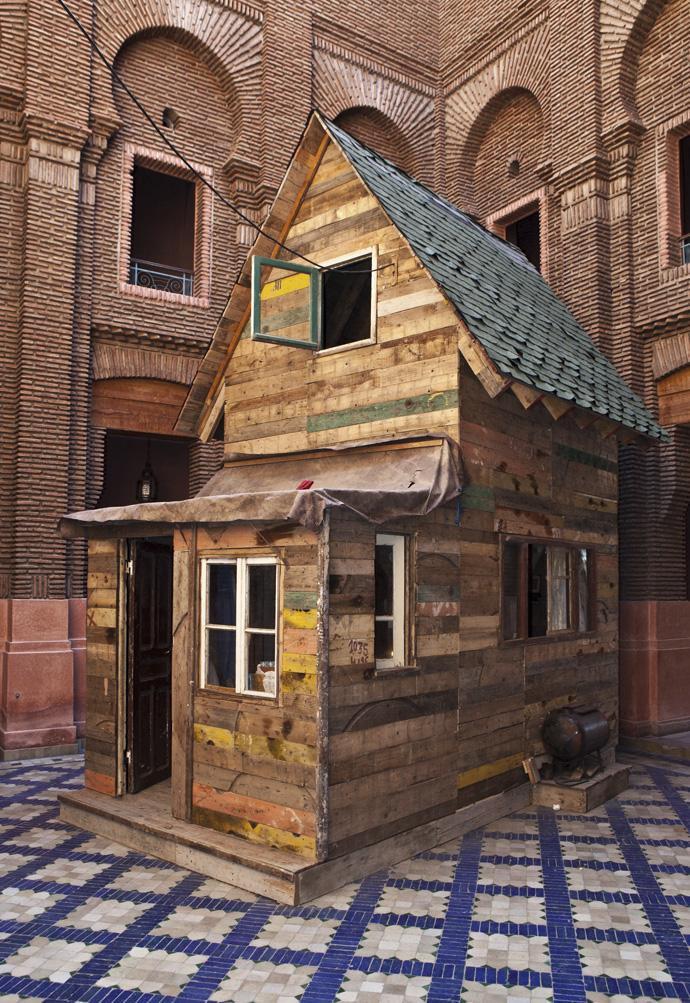 Marrakech_Biennale_2012_ETHAN_HAYES_CHUTE_wienskowski_THE_STIMULEYE